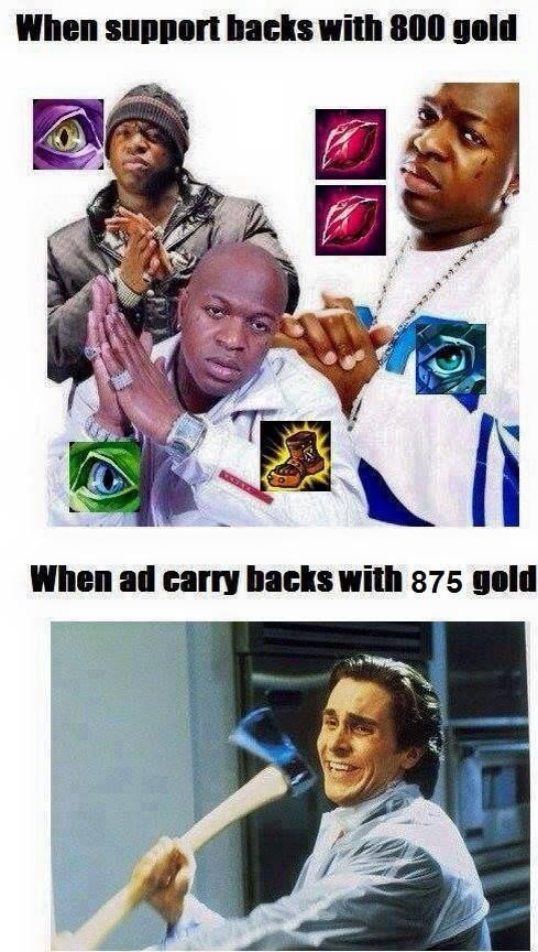 Difference Adc And Supp League Of Legends Lol League Of Legends League Of Legends Comic League Memes