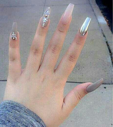 Pin De Sandi Corona En Elegant Nails Nails Nail Designs Y