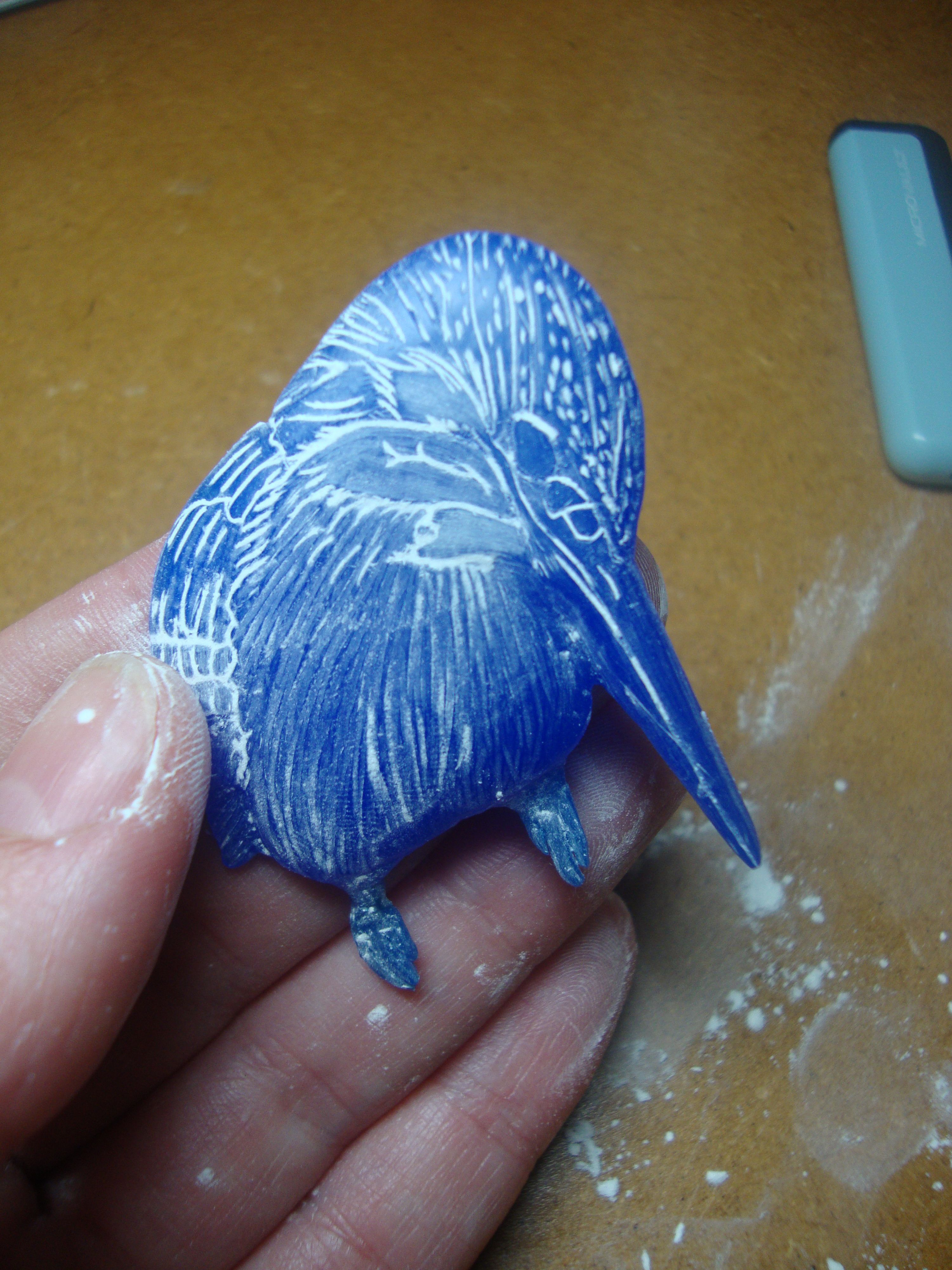 Wax carving to make jewellery… and
