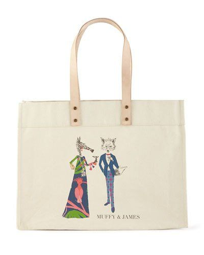 c3b3655bde1 Muffy   James Extra-Large Personalized Tote