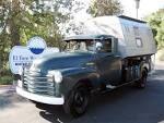 Bildresultat för chevy panel truck camper