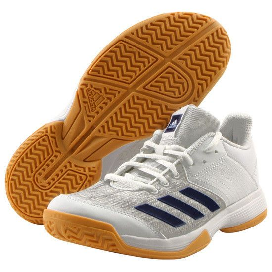 66623d84de1 adidas LIGRA 6 Men s Badminton Shoes Indoor Sports White Gray adiWEAR NWT  CP8904  adidas