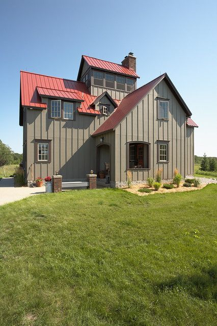 Outstanding Metal Hunting Lodge Home (HQ Pictures) Metal Building