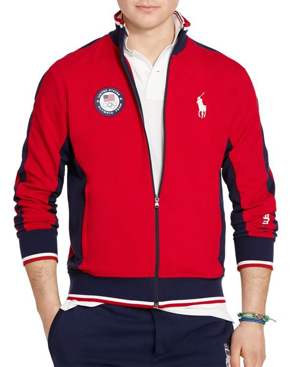 Polo Usa Team Winter Rl Olympic Track Ralph Lauren Jacket2014 WE9DH2I