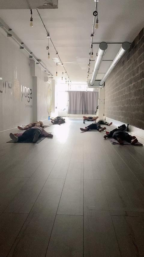 #clean  #safe  #distanced  #yoga #studiolife #domoreyoga #savasana