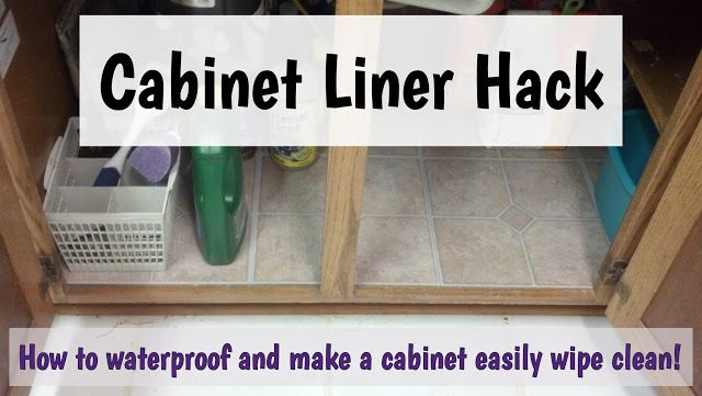 Cabinet Liner Hack Kitchen Sink Diy Cabinet Liner Diy Kitchen