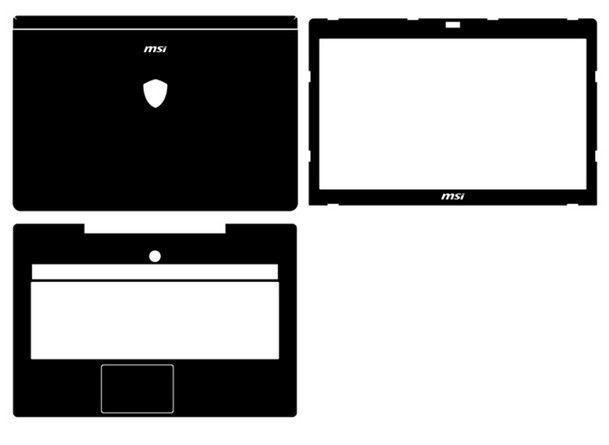 d83ed5effb14 Details about Laptop Carbon fiber Vinyl Skin Stickers Cover guard ...