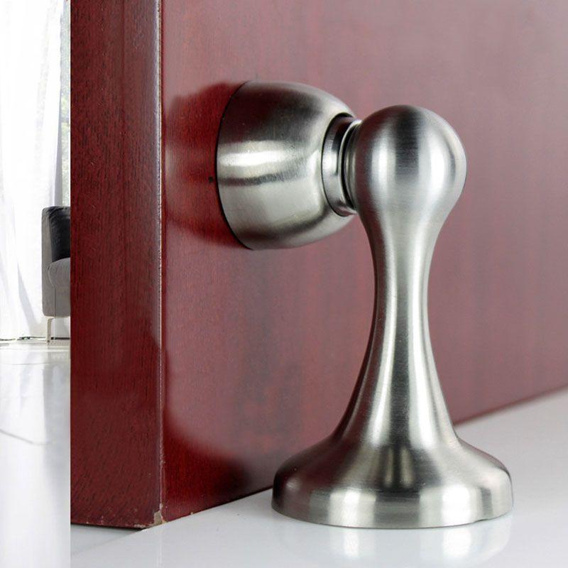 304 Stainless Steel Magnetic Door Stopper Doorstop Stop Catch Heavy Duty