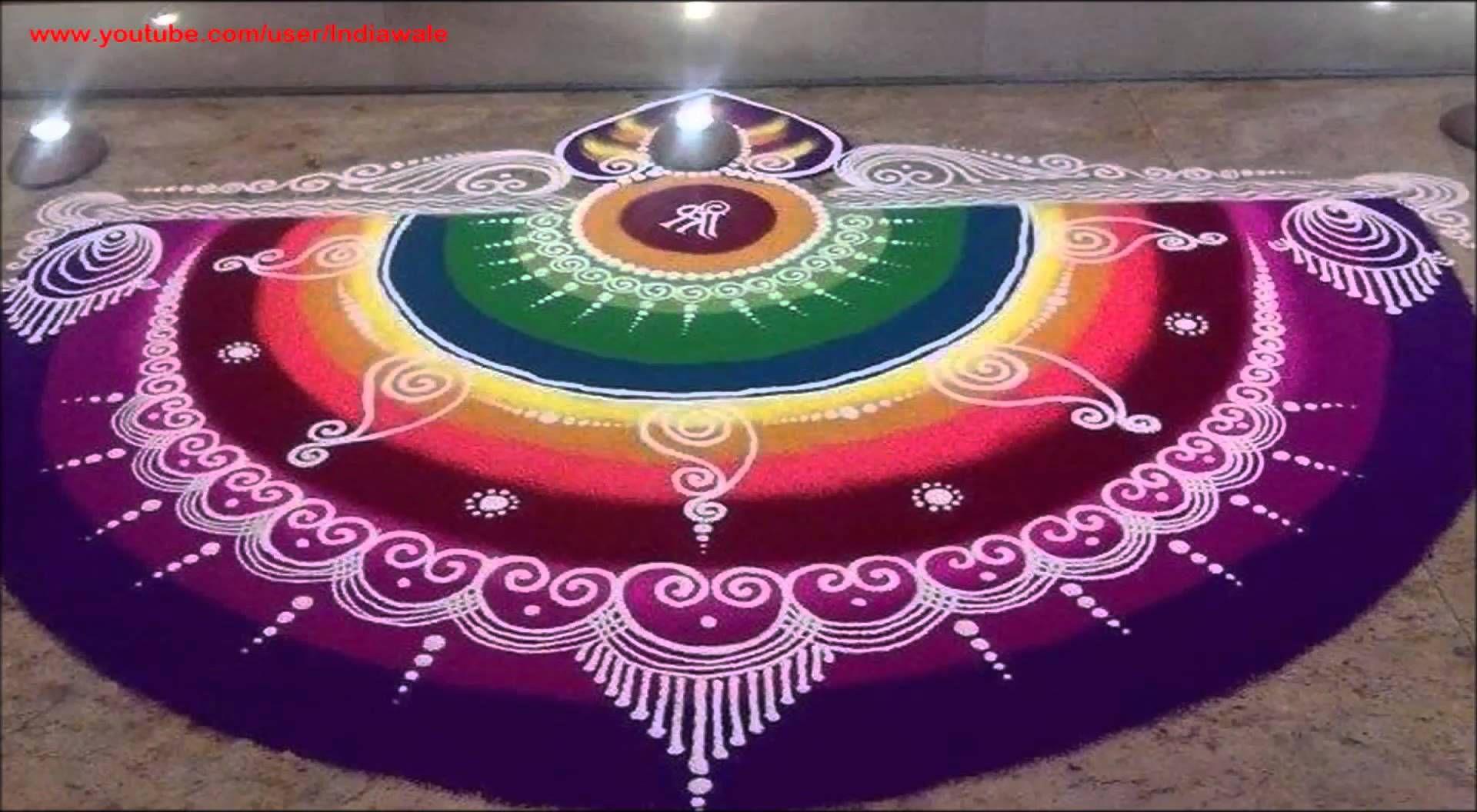 Watch 10 Best Sanskar Bharti Rangoli Designs To Try In 2019 video