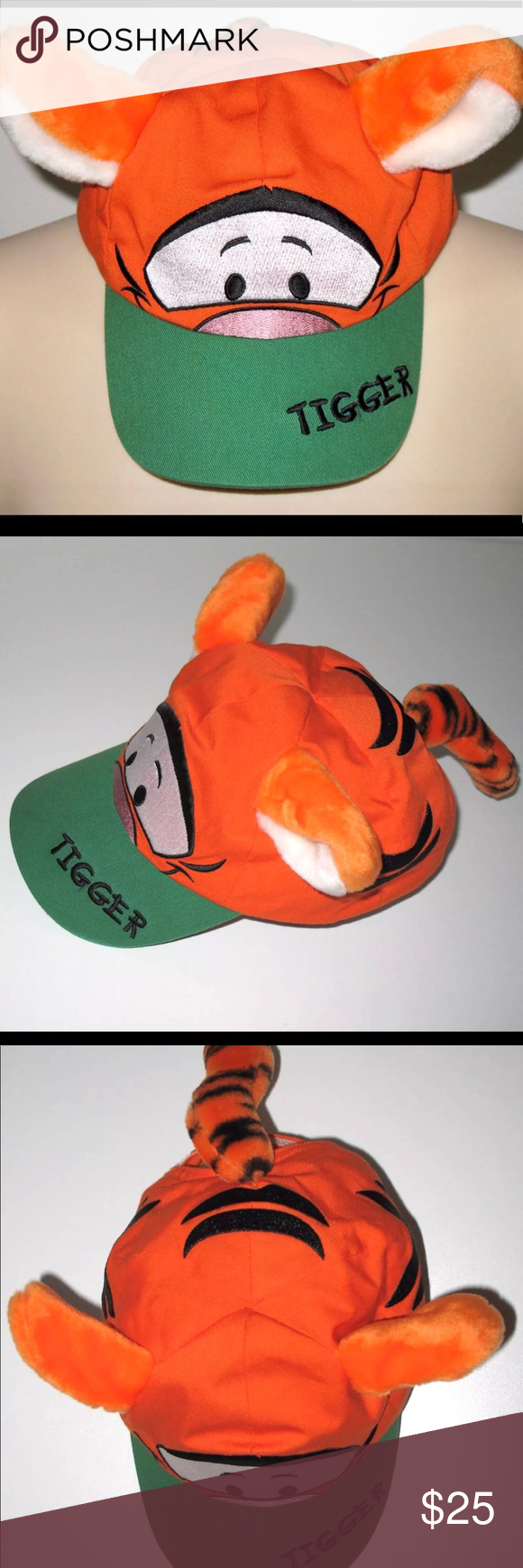 b47e158ef10 Disney toddler Tigger plush hat Disney tigger plush toddler hat. Lightly  used. Clean