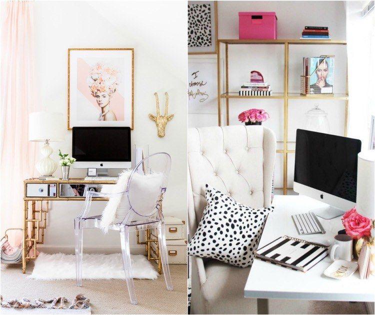 Déco chambre fille ado en rose, or et compagnie en quelques idées chics