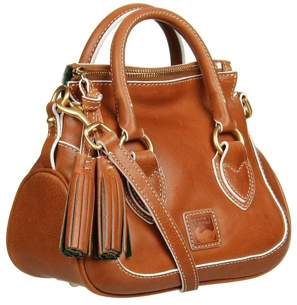 a76d7e30942c Dooney   Bourke Florentine Edge Mini Savannah Satchel (Natural) - Bags and  Luggage on shopstyle.com