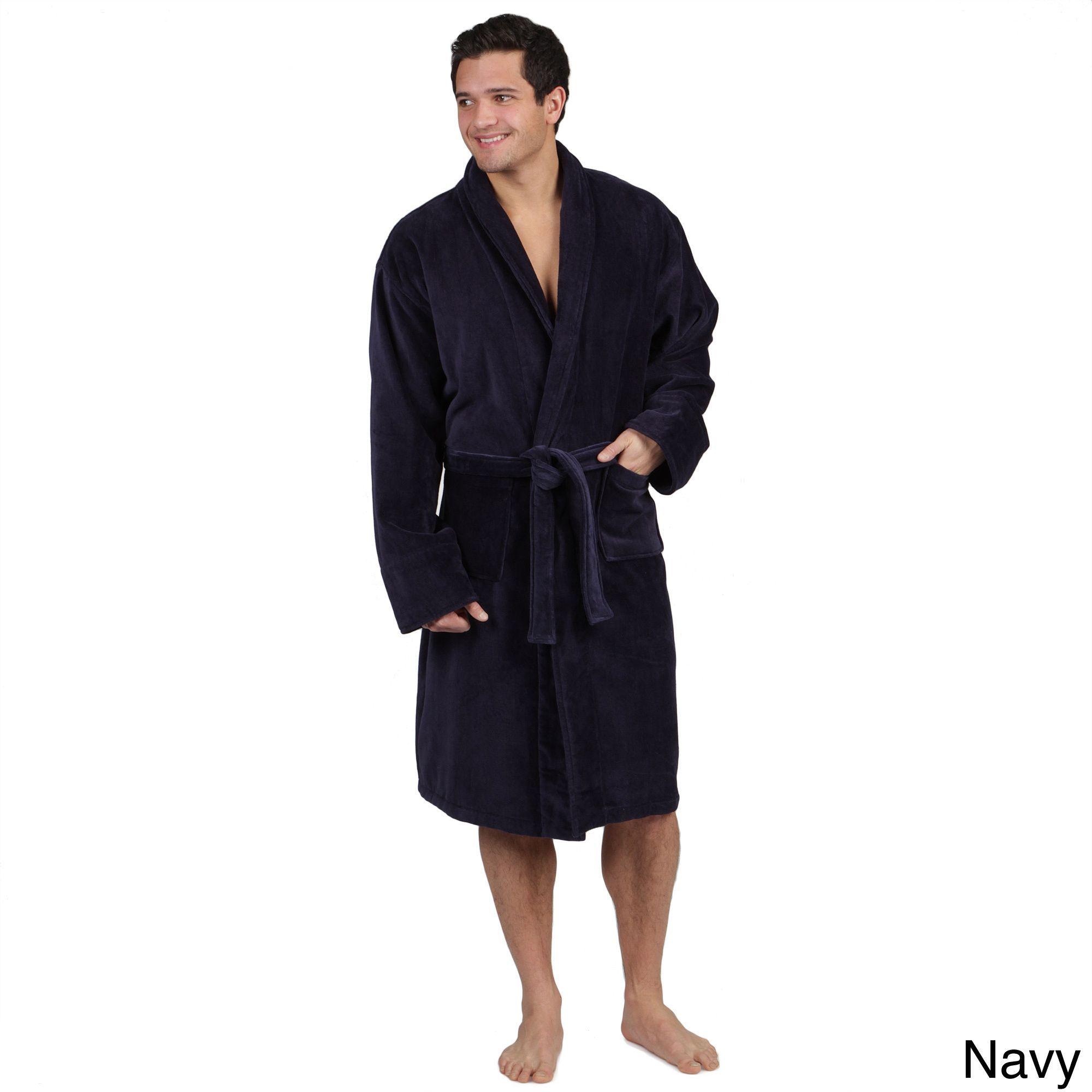 LCM Home Fashions Men s Terrycloth Bath Robe. This velvety-soft ... d20923ef7
