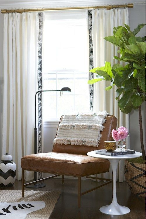 Elements of Style Blog   A Black and Blue Room   http://www.elementsofstyleblog.com
