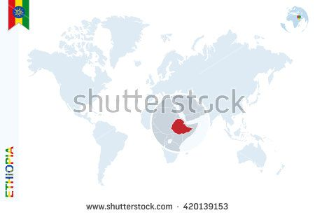 Pin by cristian chiriac on ethiopia pinterest flag pins world map with magnifying on ghana blue earth globe with ghana flag pin zoom on ghana map vector illustration buy this stock vector on shutterstock gumiabroncs Images