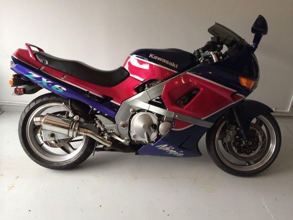 93 Kawasaki ZX600D ZX-6 Ninja ZX6 600 ZZR