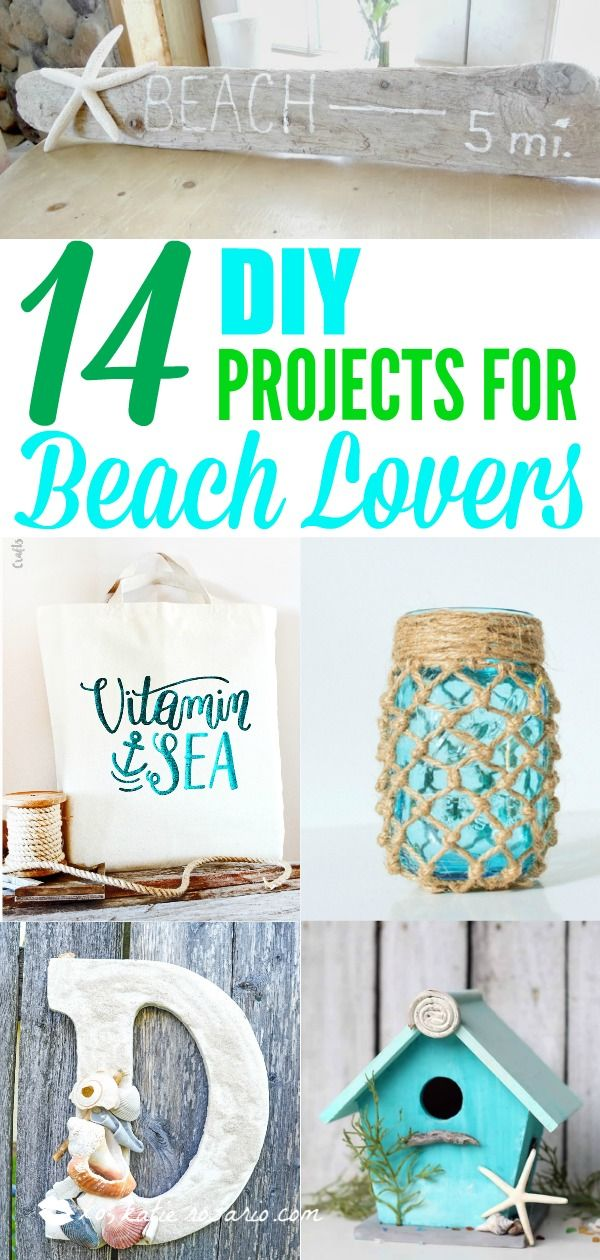 14 diy projects for beach lovers diy do it yourself today 14 diy projects for beach lovers diy do it yourself today pinterest beach crafts lovers and craft solutioingenieria Gallery