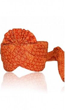 Georgette Fabric Deep Orange Color Rajasthani Jodhpuri Turban Safa Pagdi |  FH465072495 #turban #punjabi