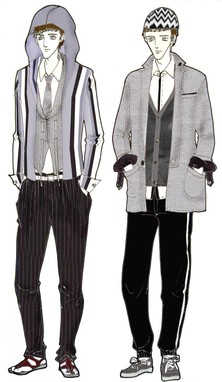 fashion clothes drawing men wwwpixsharkcom images