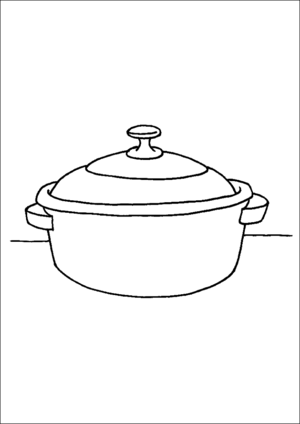 Cooking Pot With Lid Healthy Food Art Cooking Pot Cooking