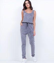 e4ce59070 Macacão Feminino  Jeans