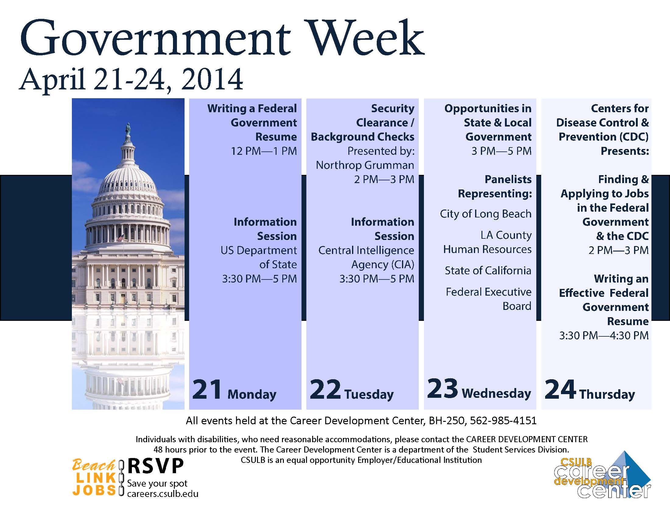 Government week starts next week learn how to write a