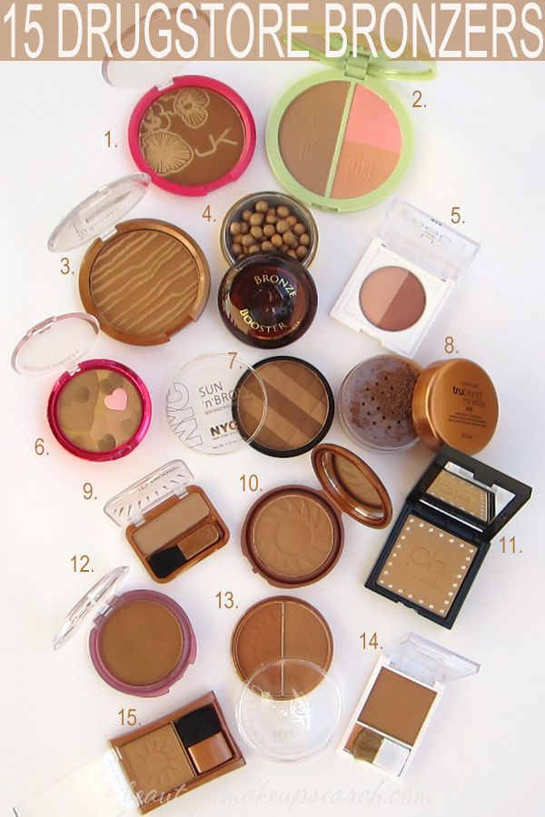 Best Bronzers: 15 Drugstore Bronzers.  Not a dupe posting but more like affordable bronzers instead of purchasing high-end bronzers that do the exact same thing as their counterparts!