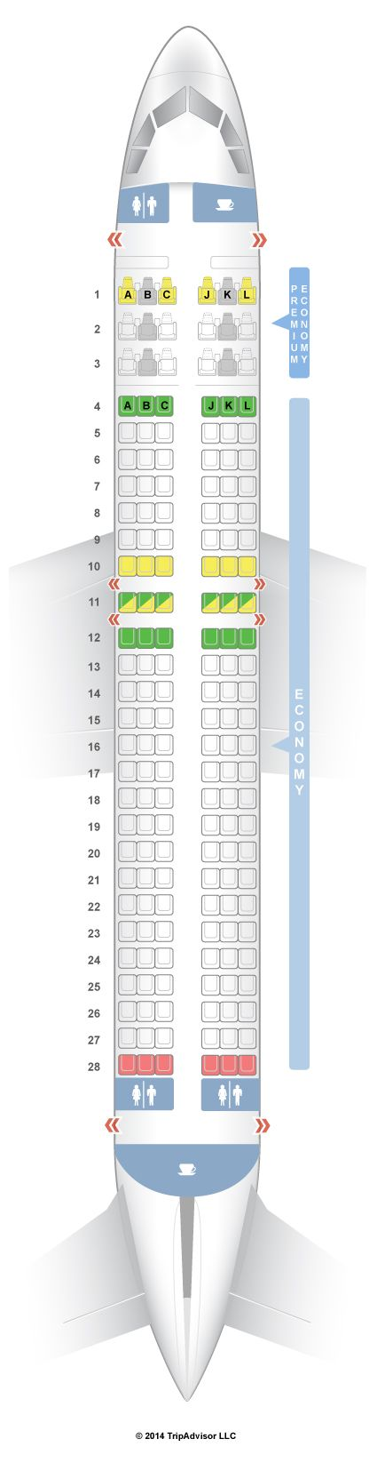 Seatguru Seat Map Latam Chile Airbus A320 320 V2 Seatguru Ryanair Qatar Airways