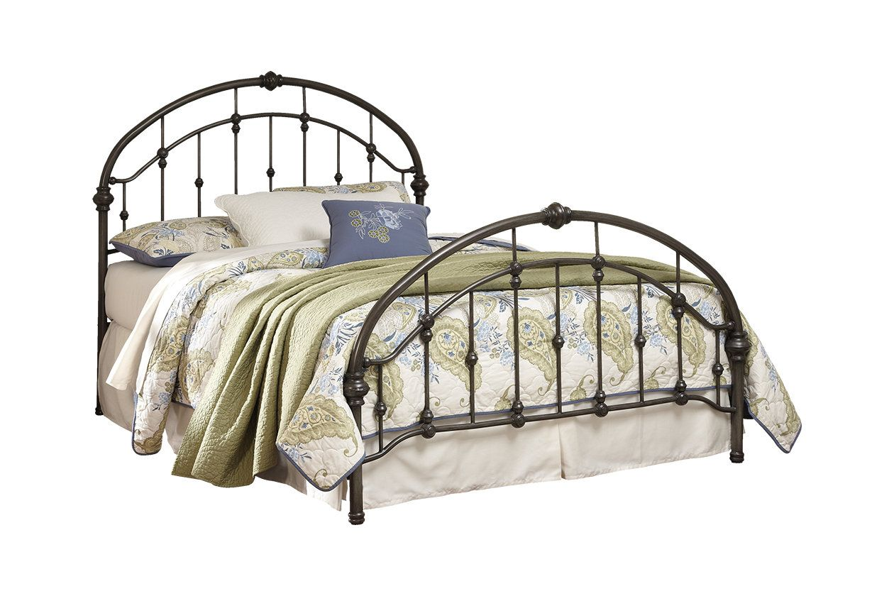 Nashburg Queen Metal Bed Ashley Furniture Homestore King Metal Bed