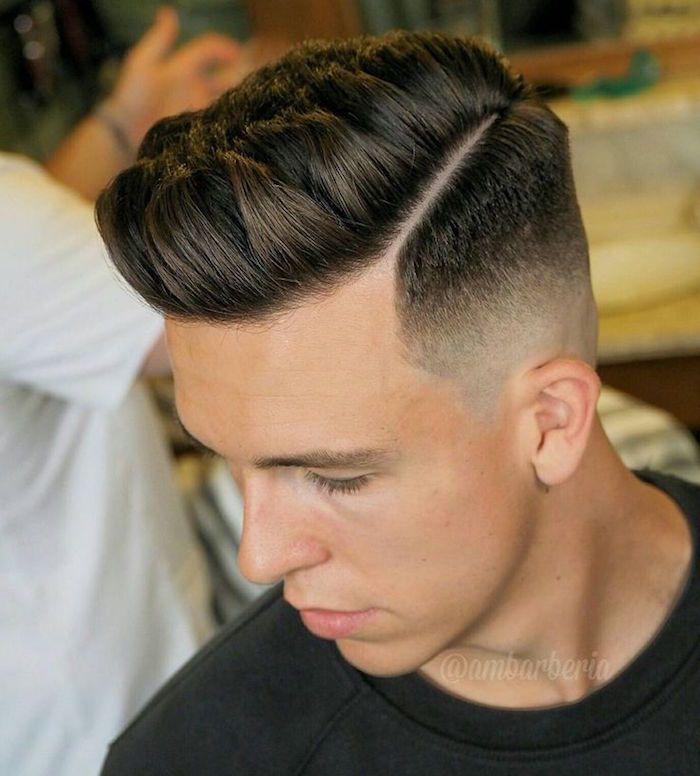 Coupe Pompadour Le Vintage En Tte Hair Style Haircuts And Hair