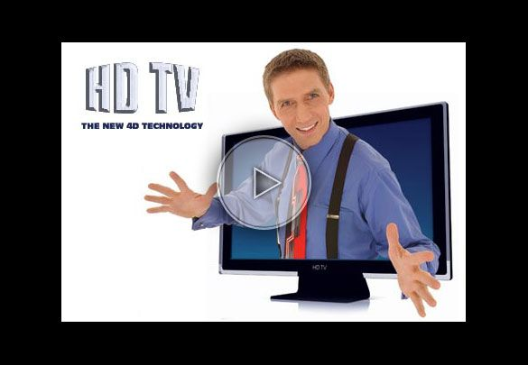 HD TV - La nouvelle technologie 4D