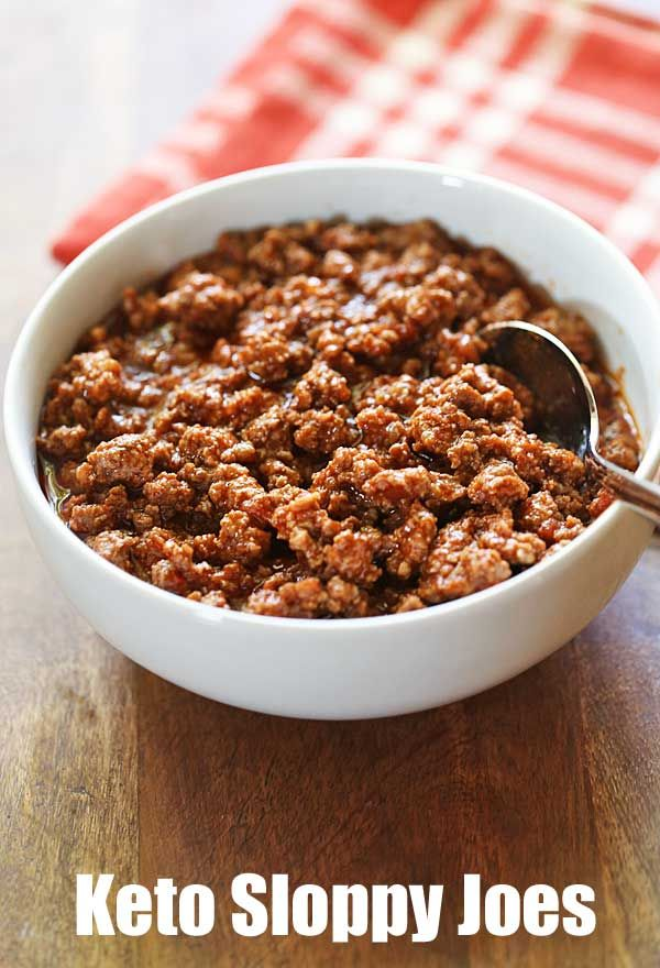 Healthy Sloppy Joes #healthyrecipes