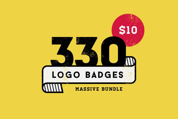 330 Logos Bundle by vuuuds on Creative Market