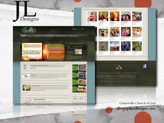 Gainesville Church Of God Http Mygcog Com Gainesville Fl Jl Designs Web Design Design