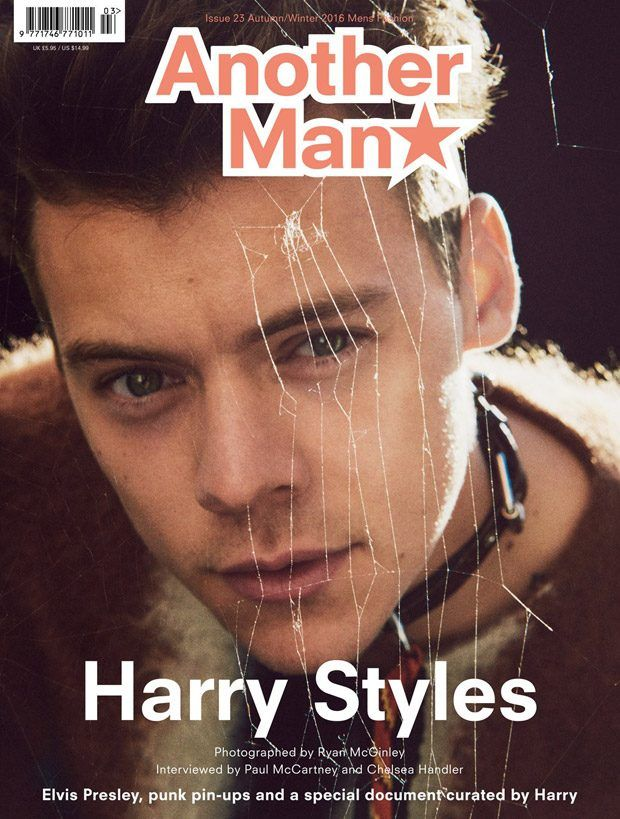 Harry Styles Covers Another Man Magazine Fall Winter 2016 Issue