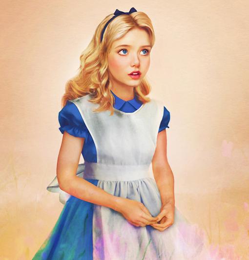 Real Life Disney Girls Alice Disney Pinterest