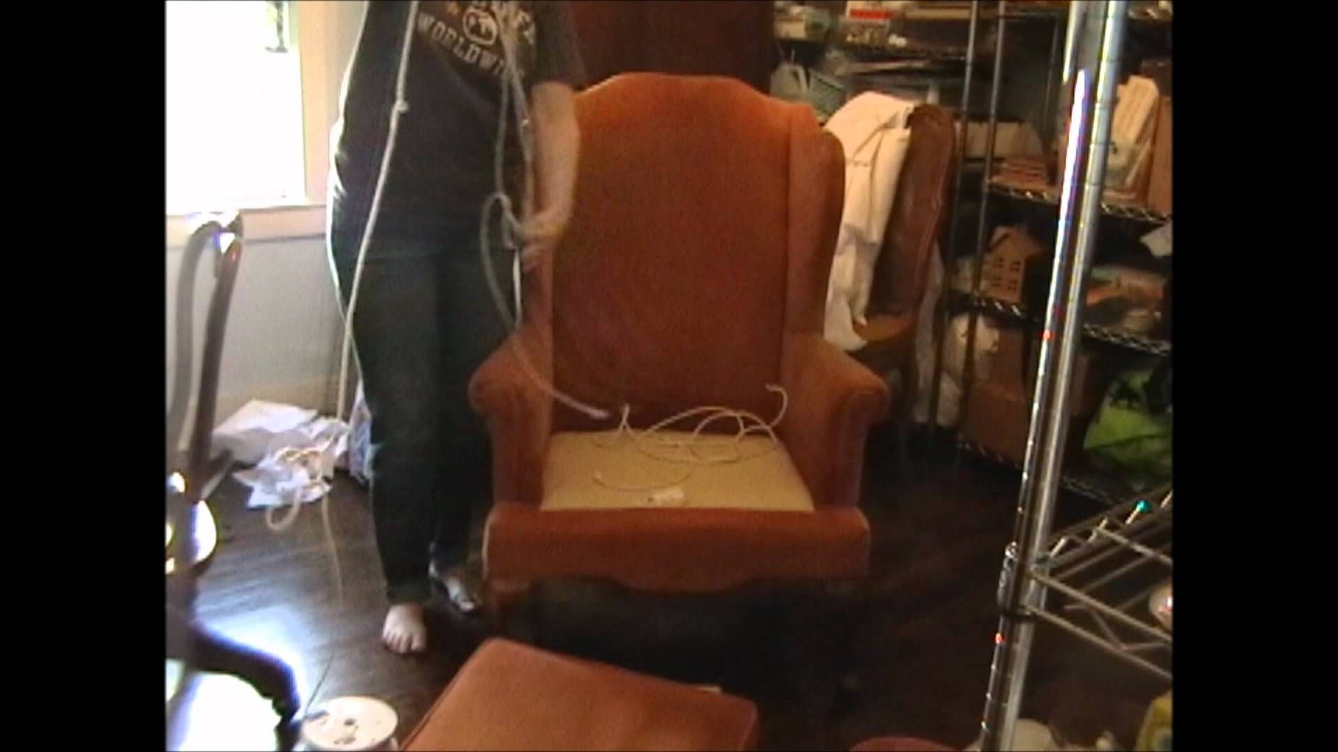 Video Series How To Slip Cover A Chair/ Couch. I'm Going To