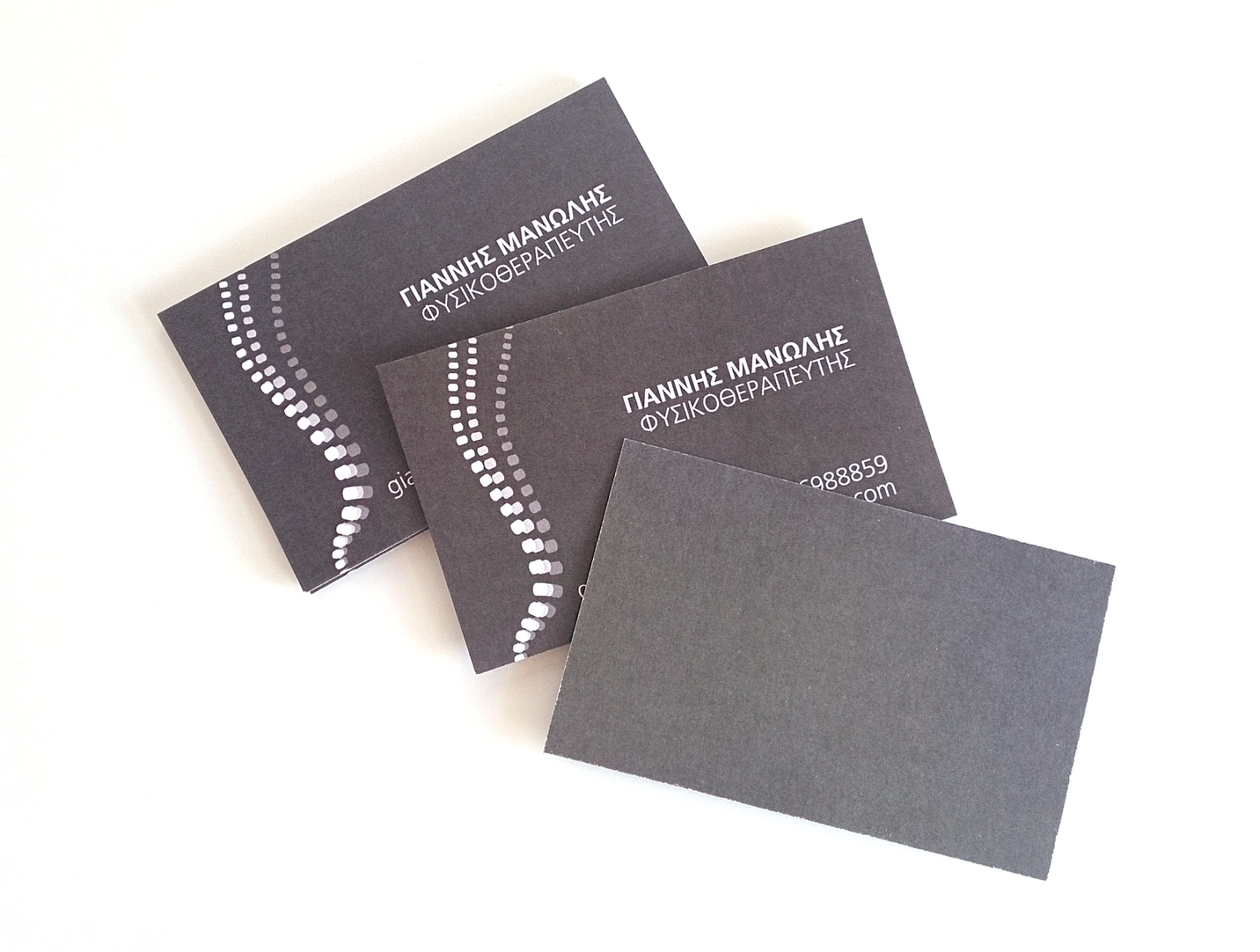 physiotherapy business cards by natasha pappa via behance sophie0610 pot com physiotherapist card 2