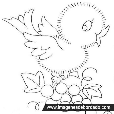 Worksheet. Dibujos infantiles para bordar a mano gratis  Dibujos bordar o