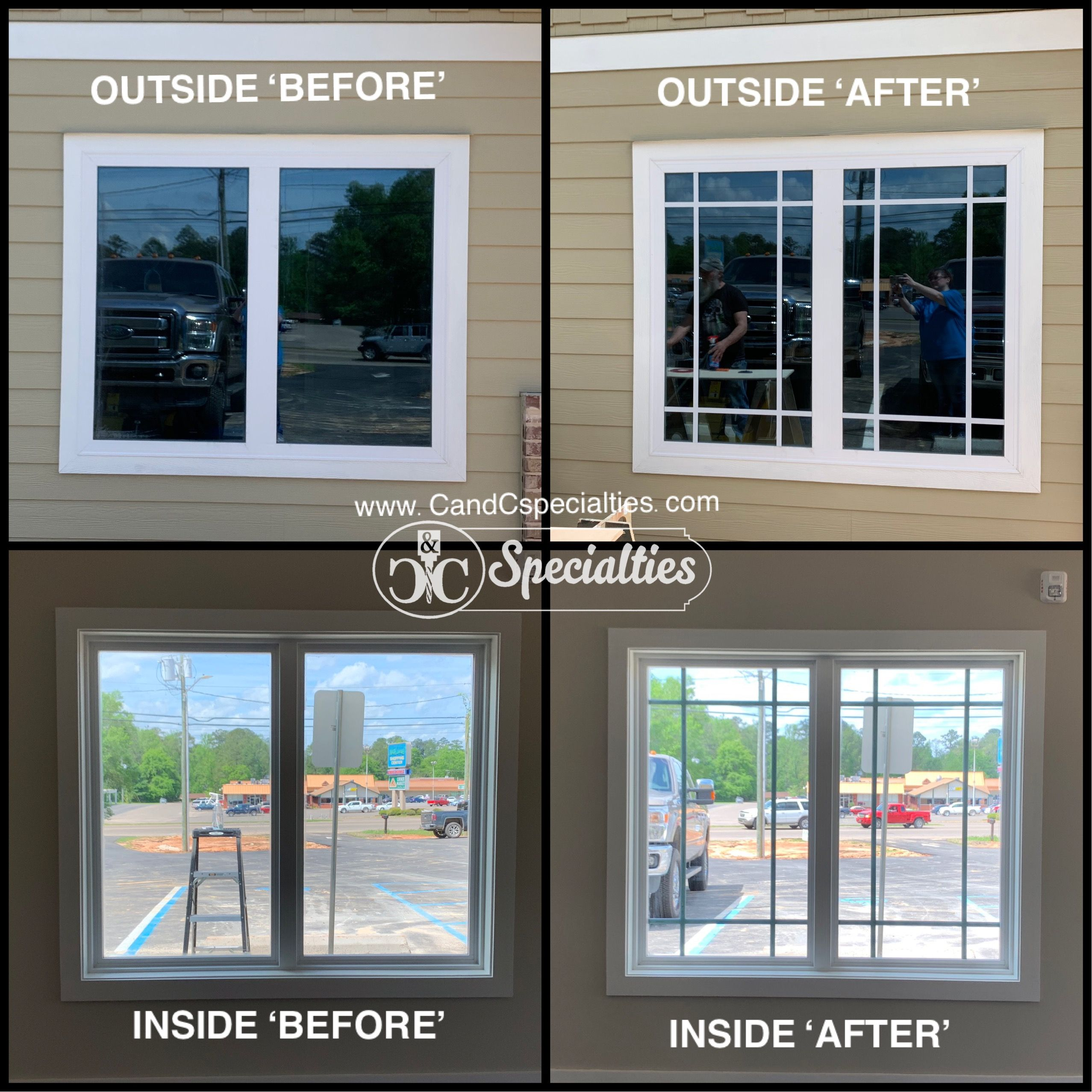 Custom Mullions Muntins Perfect For Existing Windows Or New Builds Shipping Available Home Exterior Makeover Prairie Style Interior Diy Window