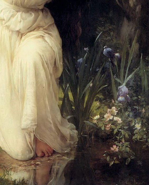 A Nymph In The Forest ~ Charles Amable Lenoir
