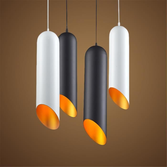 LUSTRE ET SUSPENSION FerandHome Rétro Lustre LED Lampes Suspension