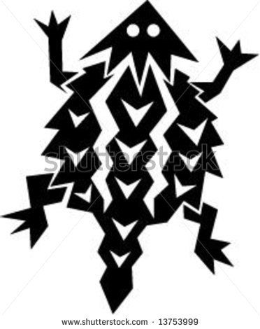 horned lizard tattoo native american horned toad stock vector rh pinterest com TCU Horned Frog Drawing TCU Horned Frogs Graphic