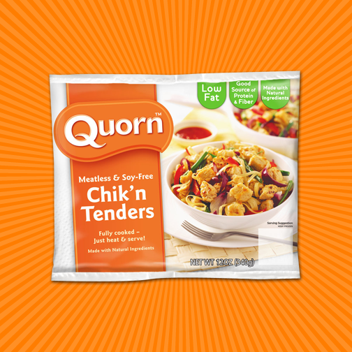 Have You Tried Our Quorn Chik'n Tenders? #TryItTenders