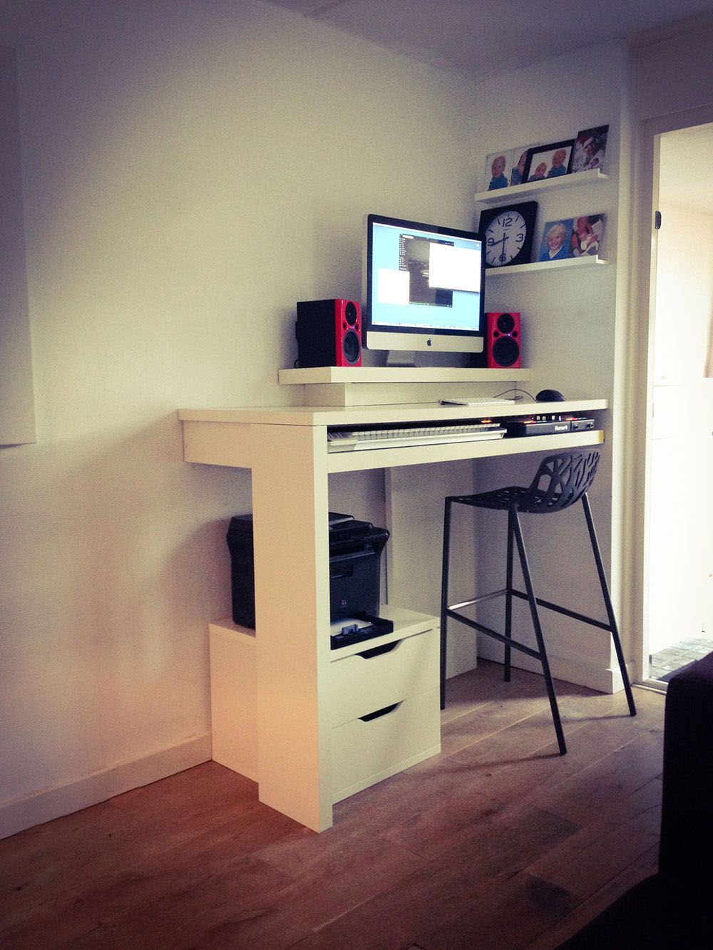 Surprising Computer Desk Hide Tower That Will Impress You