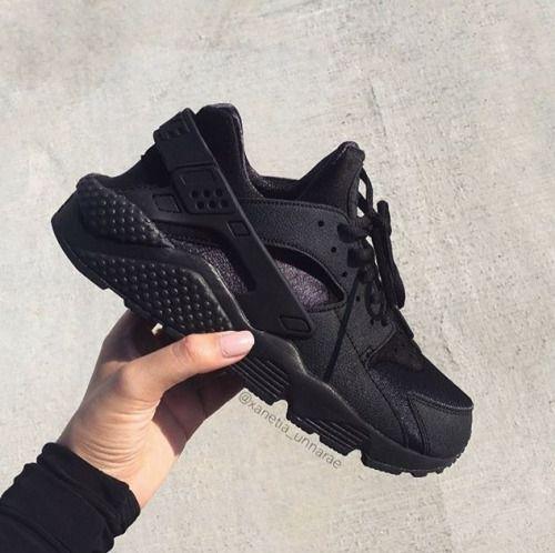 Broke Girl, Expensive Taste | All black nike shoes, Black nike ...