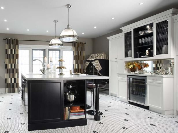 candice olson's kitchen design ideas | art deco tiles, kitchens