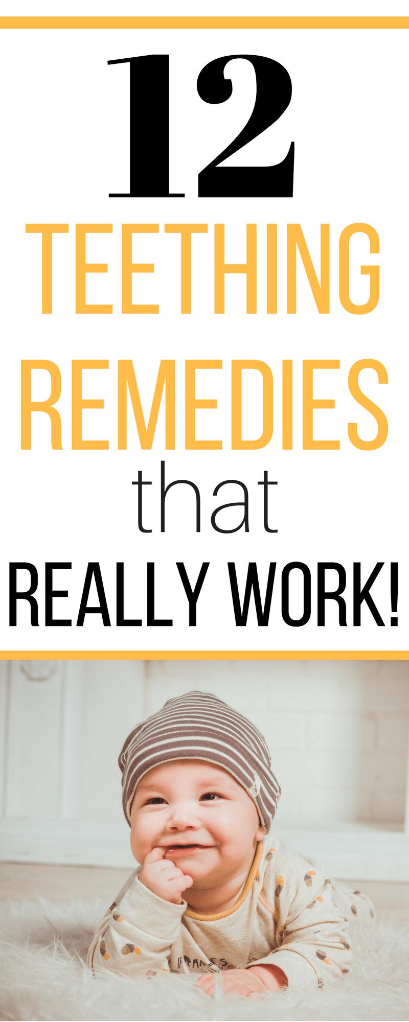 12 Teething Remedies That Actually Work Baby Teething