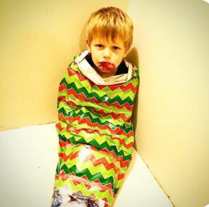 Christmas leprechaun story