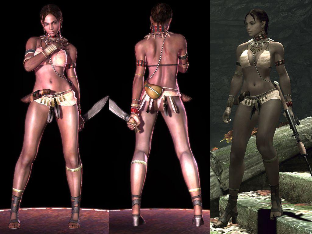 Sheva Alomar From Resident Evil 5 In The Hyper Sexualized -4161